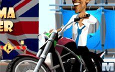Obama Moto Rider, juegos de motos de obama