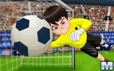 Fútbol y Ben10