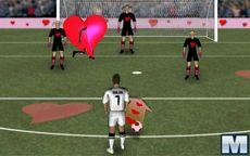 Cristiano Ronaldo Fútbol en el día de San Valentín