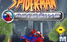 Spiderman Motos de carreras