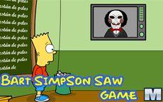 Juego de Bart Simpson - Escapa de Saw