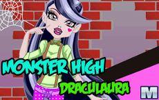 Monster High Draculaura - Juega a Vestir