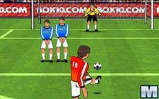 Fútbol, Lanzamiento de faltas