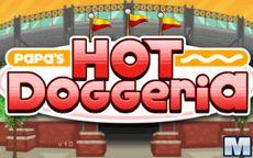 Papa's Hot Doggeria - Cocinarás hotdogs