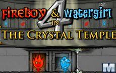 Fuego y agua 4: El templo de cristal