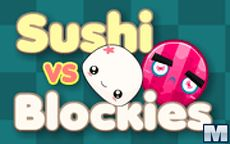 Sushi vs Blockies