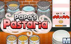 Papa's Pastaria - Aprenderás a cocinar pasta italiana