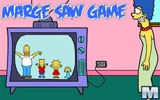 Juego simpson - Marge Saw Game