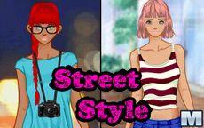 Simulador de vestir a la moda callejera
