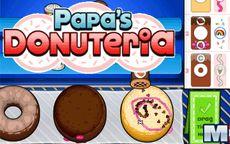 Papa's Donuteria - La tienda para aprender a cocinar Donuts