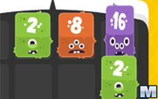 Fuzzy Monsters 2048