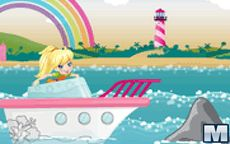 Polly Pocket Yacht