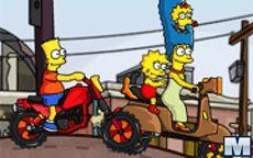 Simpsons Family Race