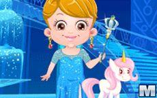 Juego de vestir a Baby Hazel - Ice Princess
