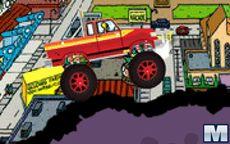 Homer Monster Car