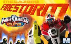 Power Rangers Spd: Megazord Firestorm