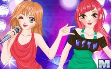 Superstar Sisters Dress Up