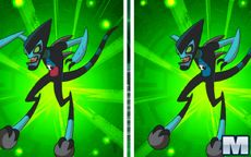 Ben 10: Spot the Difference