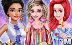 Princesses Pom Poms Fashion