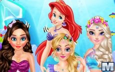 Princess Mermaid Style Makeup