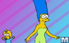 Juego de vestir a Marge Simpson