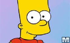 Juego de vestir a Bart Simpson
