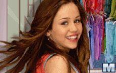 Juego de vestir a Hannah montana - Miley Cyrus
