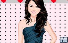 Juego de vestir a Selena Gomez - Vestidos y ropa casual