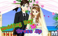 Un juego de vestir con vestidos de novia