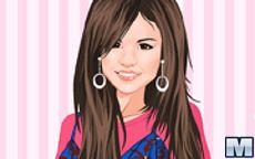 Viste moderna a Selena para viajar a Italia