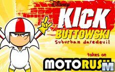 Kick Buttowski embiste con tus motos