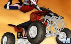 Acrobacias de trial con quads