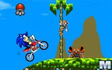 Sonic y sus juegos de motos