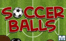 Lanzamiento de pelotas de fútbol