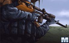 Apunta y dispara tu francotirador