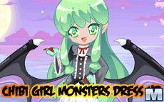 Chibi Girl Monsters, ¡A vestir pequeños monstruitos!