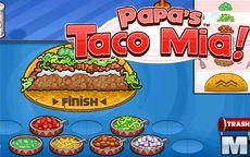 Juego de cocinar tacos - Papa's Taco Mia
