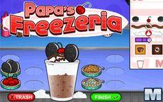 Papa's Freezeria - juego de heladeria