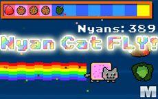 Nyan Cat Fly, el gato Anime