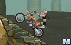 Motocross Tomb raider