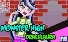 Monster High Draculaura - Juega a Vestir