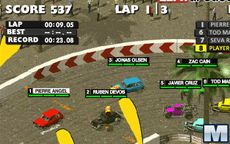Dirt Showdown: Slam and Sprint Challenge
