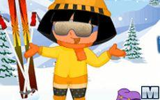 Dora Skiing Dress Up