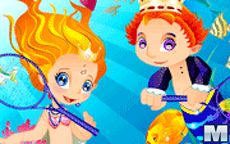 Mermaid Prince and Princess