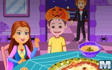 Juego de Halloween - Simulador de cocinar pizza