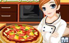 Cocina con el cuchillo más eficaz - Pizza casera
