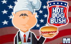Juega a cocinar salchichas Hotdog con George Bush