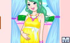 Pretty Pregnant Dress up