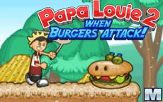 Papa Louie 2: When Burguers Attack