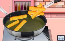 Cocina con Sara: churros con chocolate